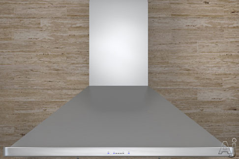 Zephyr Europa Siena ES Series ZSIE36ASES 36 Inch Wall Mount Chimney Range Hood with 400 CFM Internal Blower, 3 Fan Speeds, 5-Minute Delay Off, Fluorescent Lighting, Baffle Filters and Energy Star Qualified ZSIE36ASES