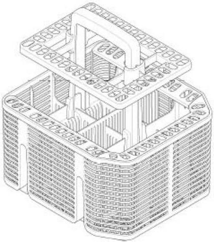 Miele Dishwasher Basket 09614020