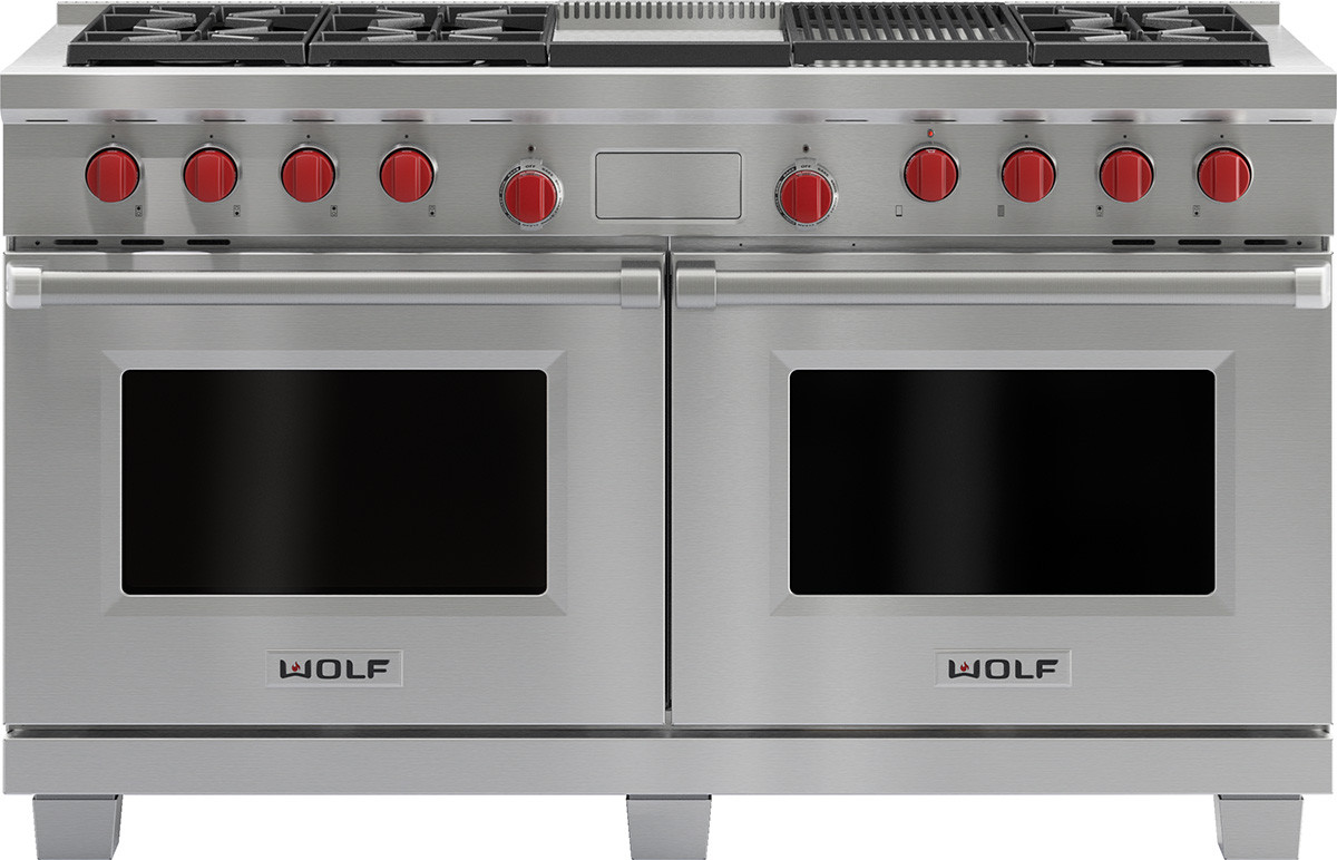 Wolf 60 Inch Pro Style Dual Fuel Range