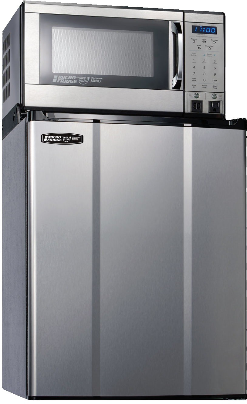 MicroFridge 19 Inch 2.28 Cu. Ft. Counter Depth Compact All-Refrigerator Stainless Steel 23MF47D1S