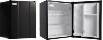 MicroFridge 19 Inch Undercounter Counter Depth Compact All-Refrigerator Black 23MF4R