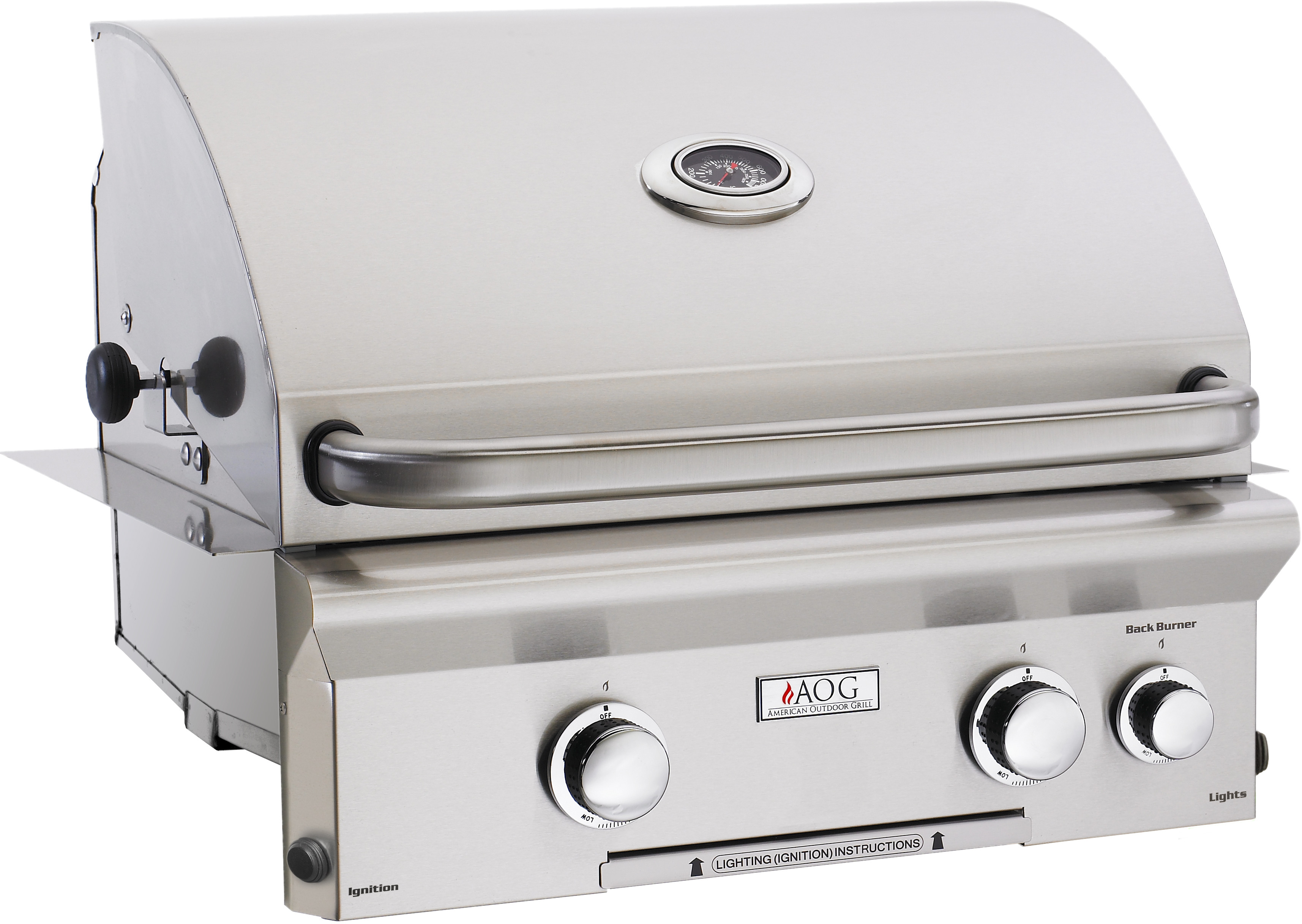 American Outdoor Grill sseries Built In Barbecue Grill Stainless Steel 24NBL00SP