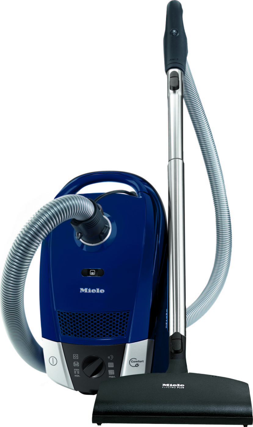 miele 41dae032usa c2 compact topaz canister vacuum cleaner with 6 variable power settings