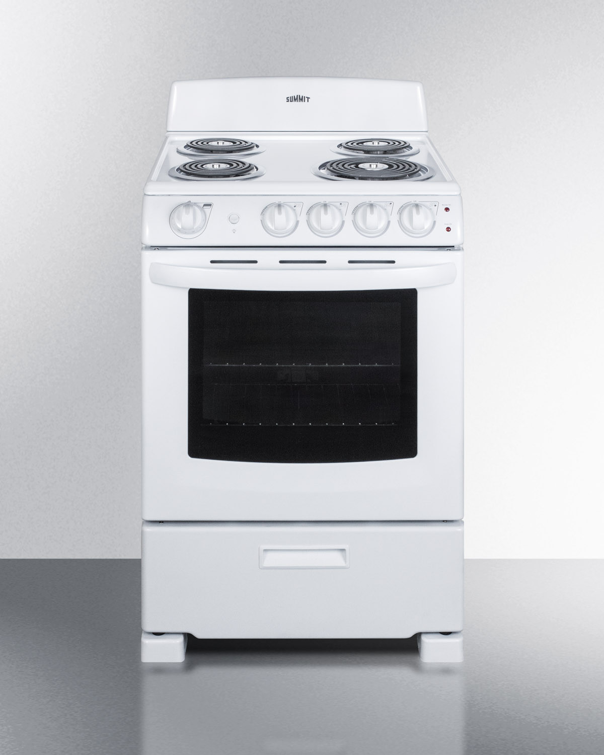 - Summit RE2411W 24 Inch Freestanding Electric Range With Upfront