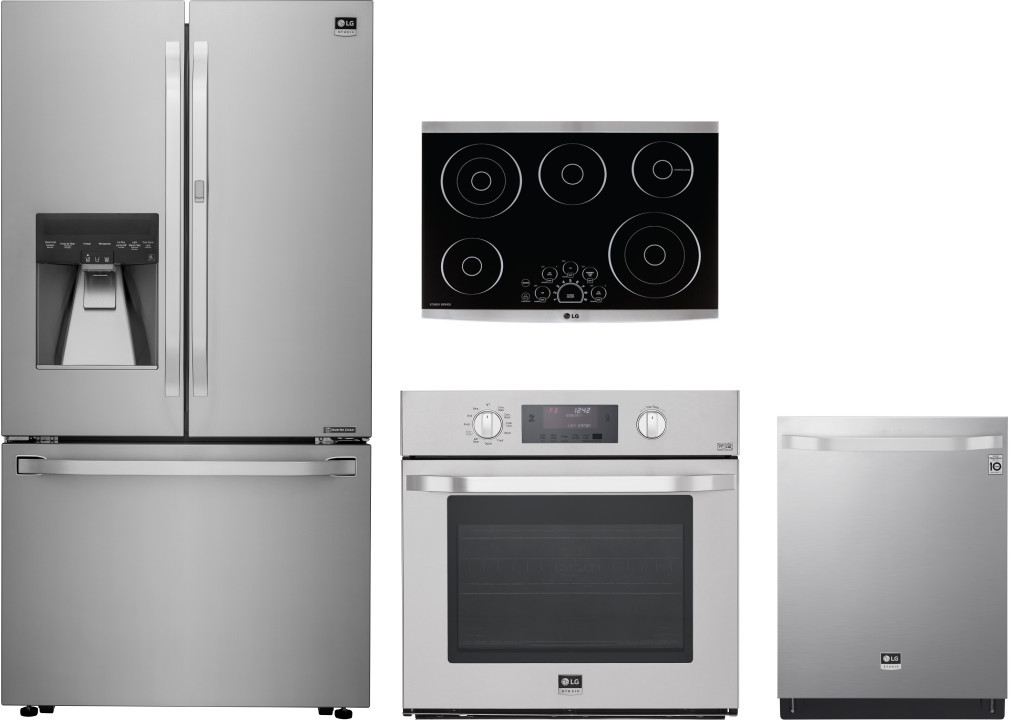 steel kitchen appliances new package stainless of cabinets with gray appliance deals packages unique