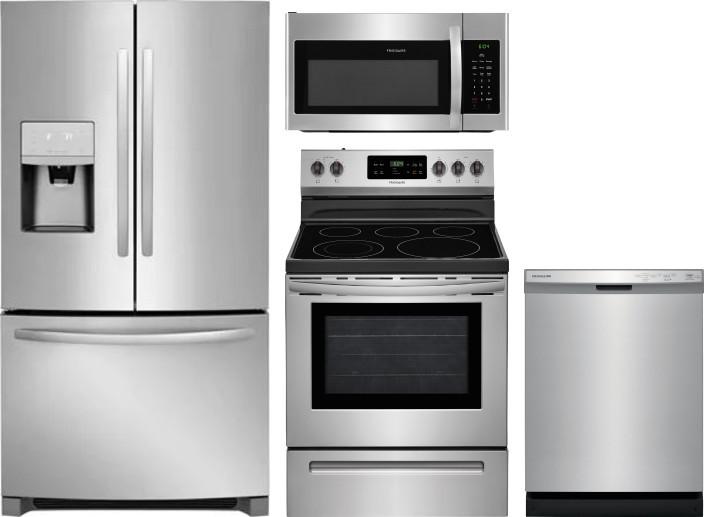 Frigidaire Frreradwmw10060 4 Piece Kitchen Appliances