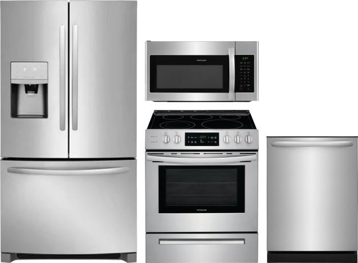 Frigidaire Frreradwmw11293 4 Piece Kitchen Appliances