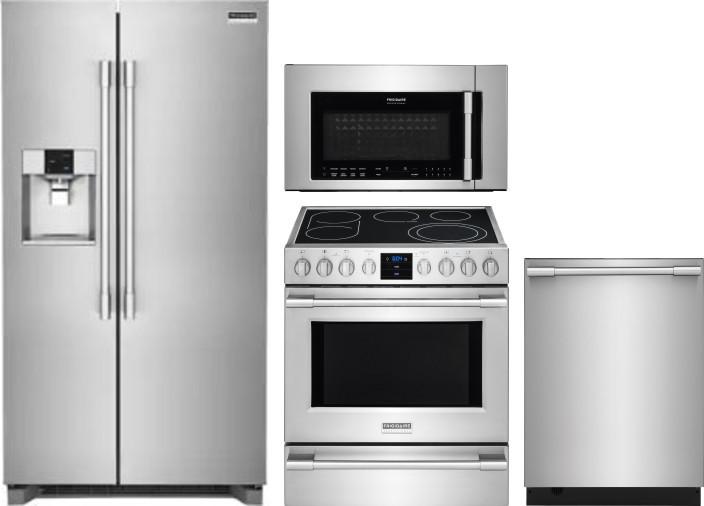 Frigidaire Frreradwmw10562 4 Piece Kitchen Appliances