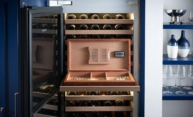 Sub Zero 7040181 Cherrywood Humidor For Wine Storage Unit