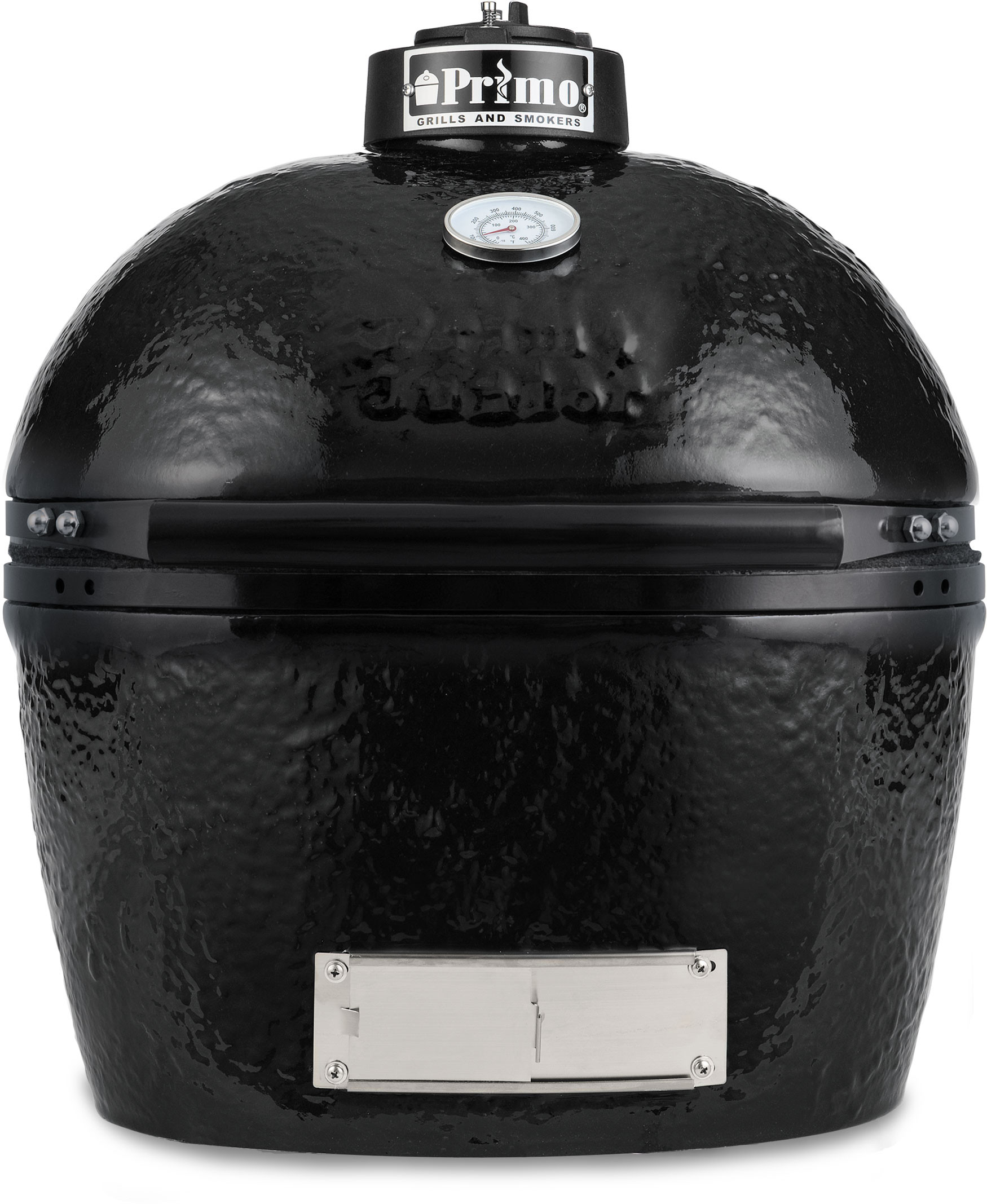 Onwijs Primo 774 21 Inch Freestanding Ceramic Kamado Grill with 360 sq LS-61