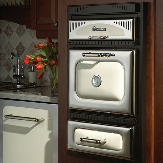 Heartland 9730 24 Inch Double Electric Wall Oven With