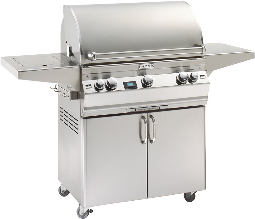 fire magic a540s2e1n61 62 inch freestanding gas grill with. Black Bedroom Furniture Sets. Home Design Ideas