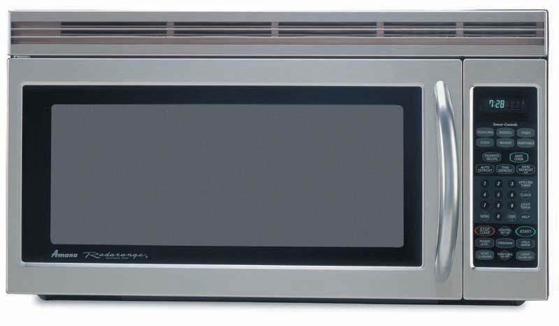 Amana Aco1860aw 1 8 Cu Ft Radarange Microwave Oven