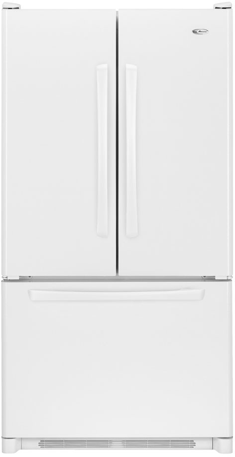 Amana Afd2535dew 25 0 Cu Ft Freestanding French Door