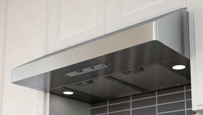 Zephyr Power Gust Series 30 Inch Under-Cabinet Canopy Range Hood