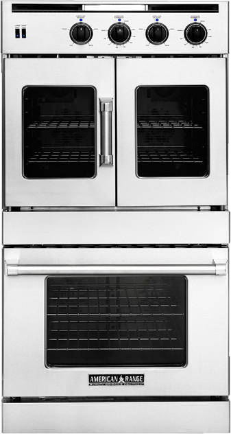 "Image of American Range Legacy 30"" Double Dual Fuel Wall Oven AROFSHGE230L"