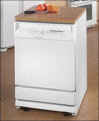 Maytag Mdc5100aww Jetclean 24 Inch Convertible Portable Dishwasher W 4 Wash Cycles Premium Upper Rack White