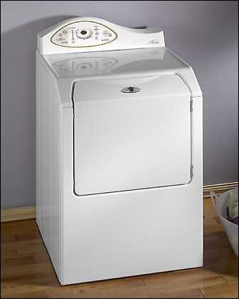 Maytag MDG5500AWW 27 Inch Gas Dryer with Electronic Touch-Pad Controls & EQ  Plus Sound Package: WhiteAJ Madison