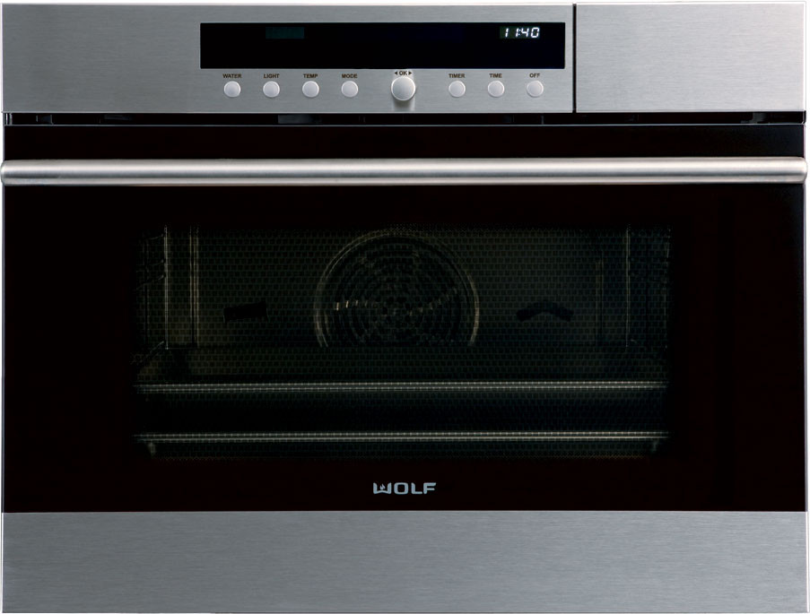 Wolf Cso24 24 Inch Convection Steam Oven With 1 8 Cu Ft