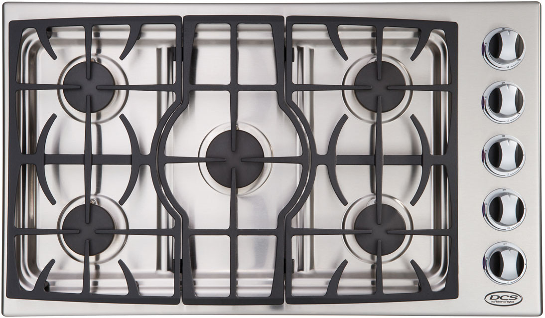 Dcs Ctd365ssn 36 Inch Gas Cooktop With