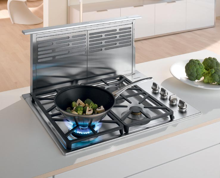 Miele Da64801000 30 Inch Telescopic Downdraft Ventilation