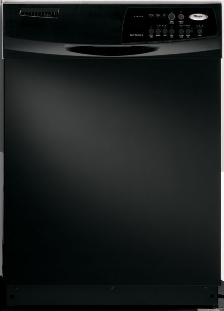 Whirlpool Du1055xtpb Full Console Dishwasher With 4 Cycles