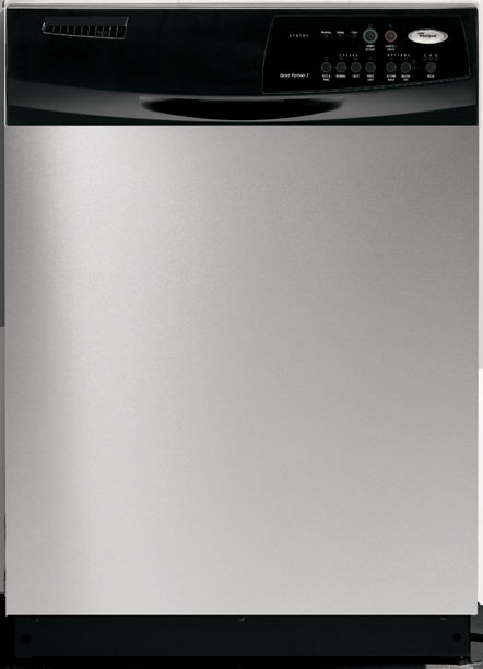 Whirlpool Du1055xtps Full Console Dishwasher With 4 Cycles
