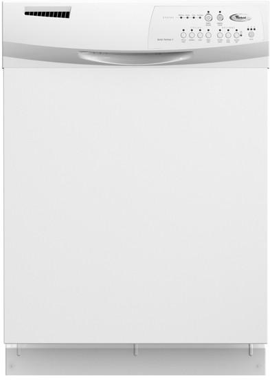 Whirlpool Du1055xtsq Full Console Dishwasher With 4