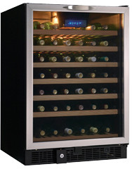 Danby Dwc512bls1 23 Inch Built In Wine Cooler With 50