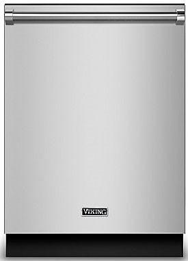 Viking PDDP242SS 24 Inch Wide Dishwasher Custom Panel Kit Stainless Steel