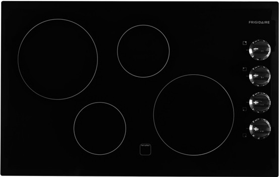 32 Inch Electric Cooktop With 4 Cooking