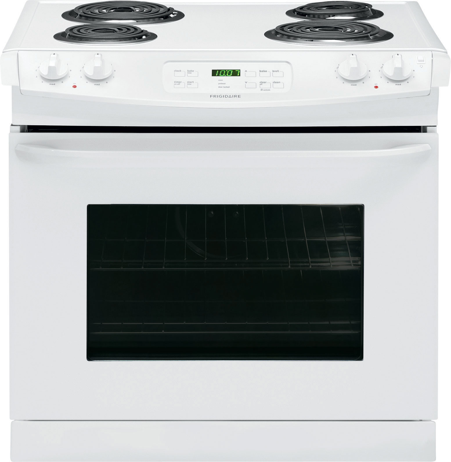Frigidaire Ffed3015pw 30 Inch Drop In Electric Range With Multiple