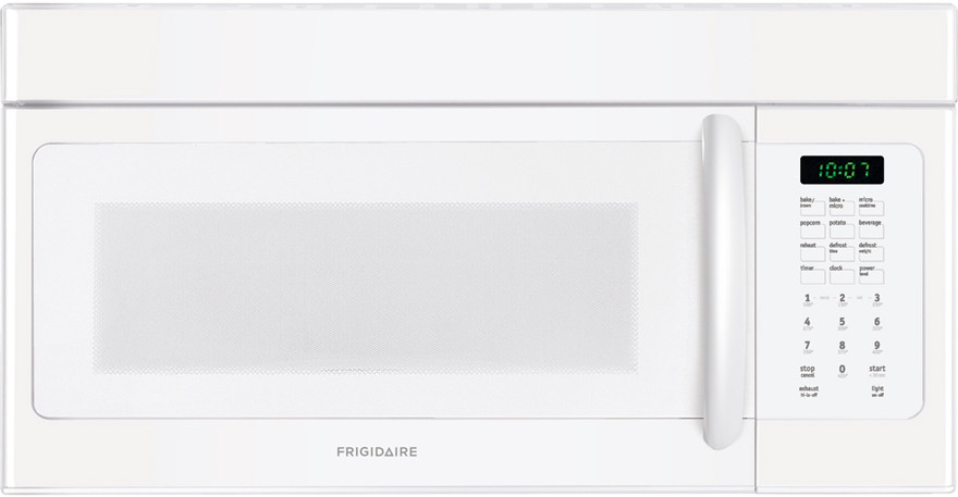 Frigidaire Ffmv152clw 1 5 Cu Ft Over The Range Microwave