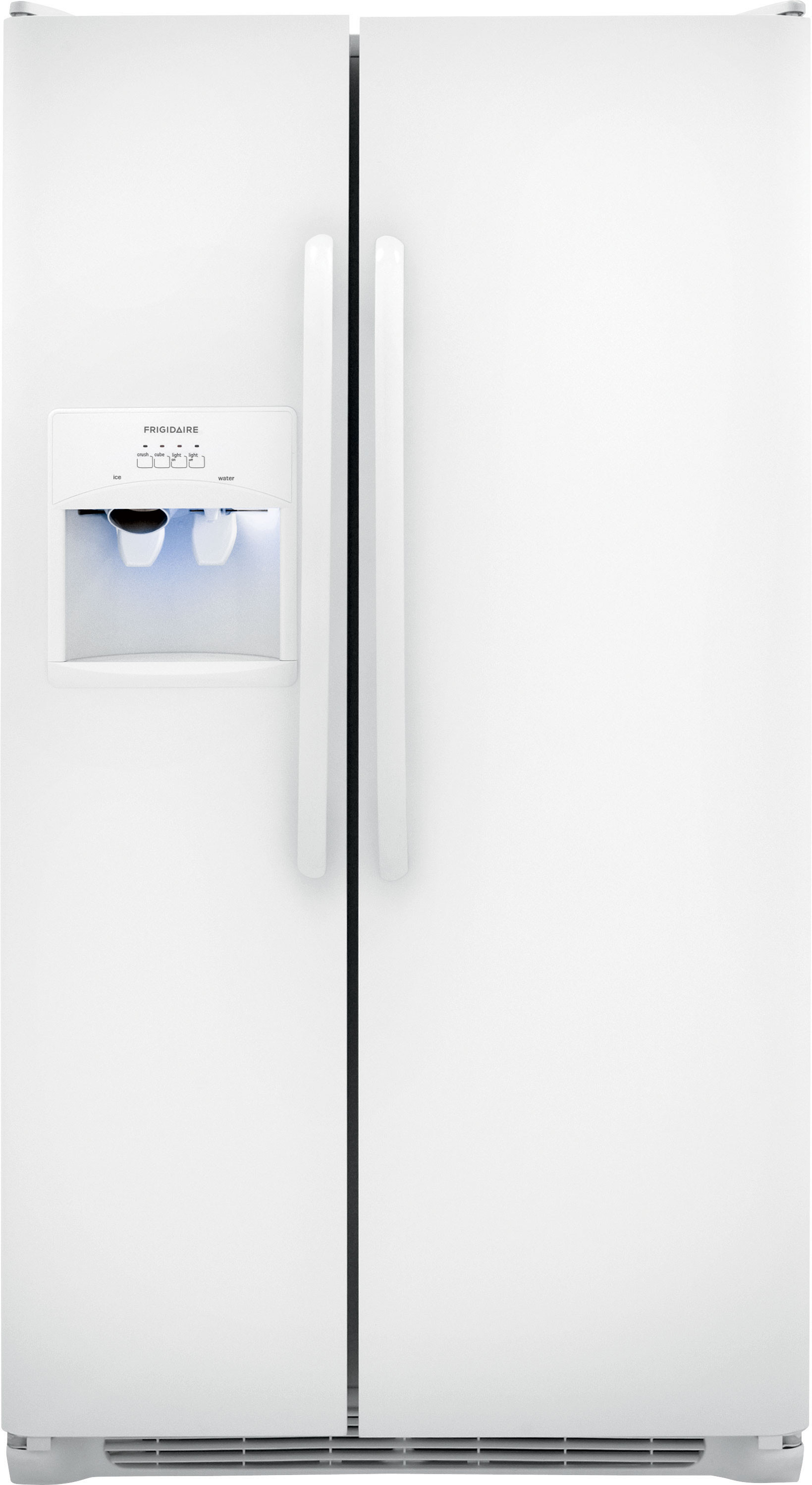 Frigidaire Ffss2614qp 36 Inch Side By Refrigerator With Puresource Filter External Dispenser Readyselect Controls Ice Water