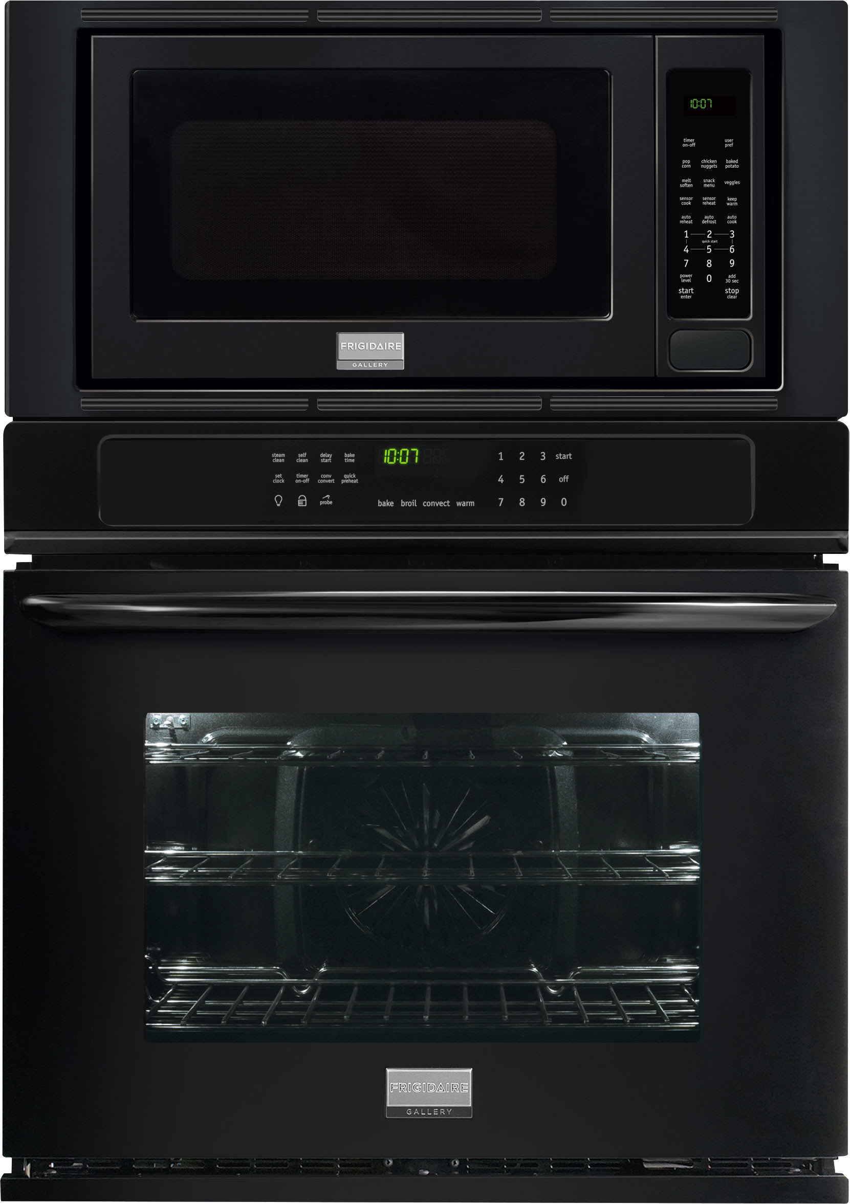 True Convection Oven, 2.0 cu. ft. Microwave, Steam Clean, Quick Preheat,  Keep Warm Setting, Temperature Probe and Star-K Certified Sabbath Mode:  Black