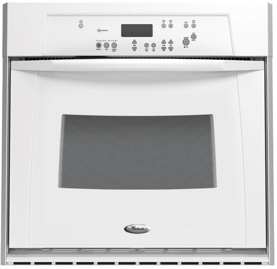 Whirlpool Gbs307prq 30 Inch Single Electric Wall Oven With