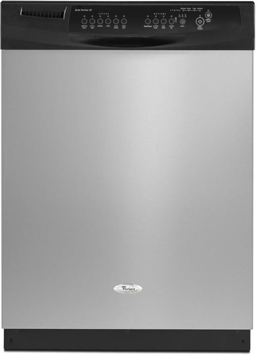 Whirlpool GU2300XTVS Full Console Dishwasher with 6 Automatic ... whirlpool dishwasher models AJ Madison