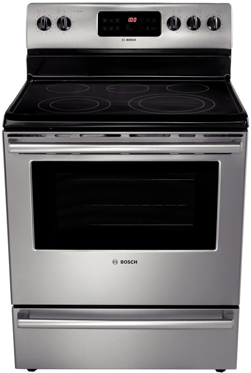 Bosch Hes5053u 30 Inch Freestanding Electric Range With 5