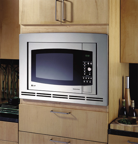 Ge Je1590sh 1 5 Cu Ft Countertop Microwave With 1000