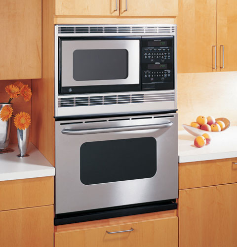 Ge Jtp86shss 30 Inch Combination Microwave Double Wall