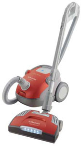 electrolux el7020b canister vacuum cleaner with 12 amp power, sealed hepa  filtration, microseal technology and optimum sensor system  aj madison