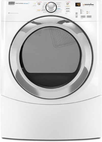 Maytag Mede900vw 27 Inch Electric Dryer With 7 5 Cu Ft