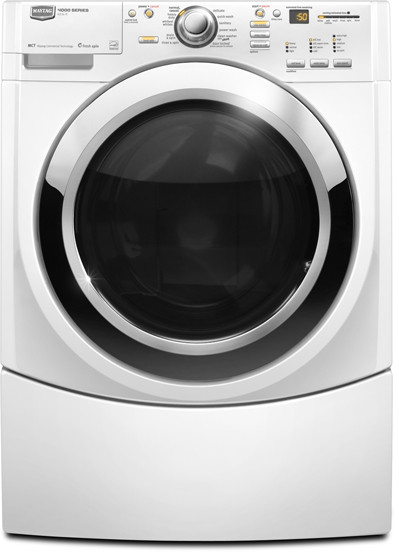 Maytag MHWE400WW 27 Inch Front-Load Washer with 4 5 cu  ft