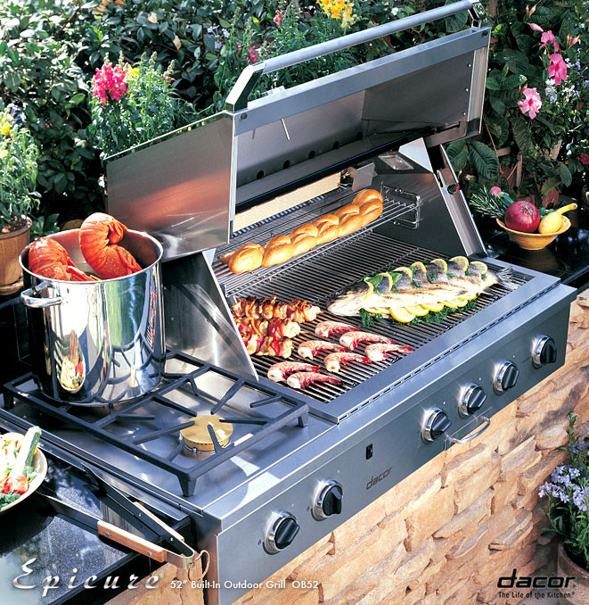 Built in Grills Built in Barbecues