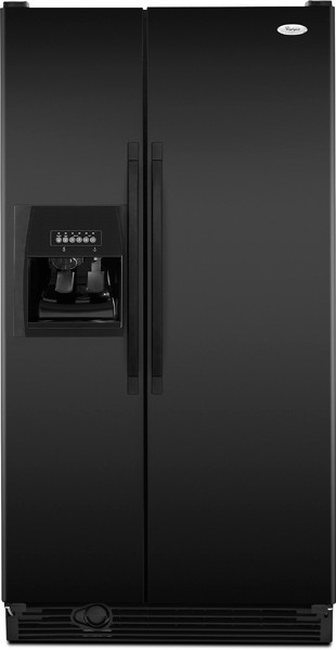 Whirlpool Ed5kvexvb 25 3 Cu Ft Side By Side Refrigerator