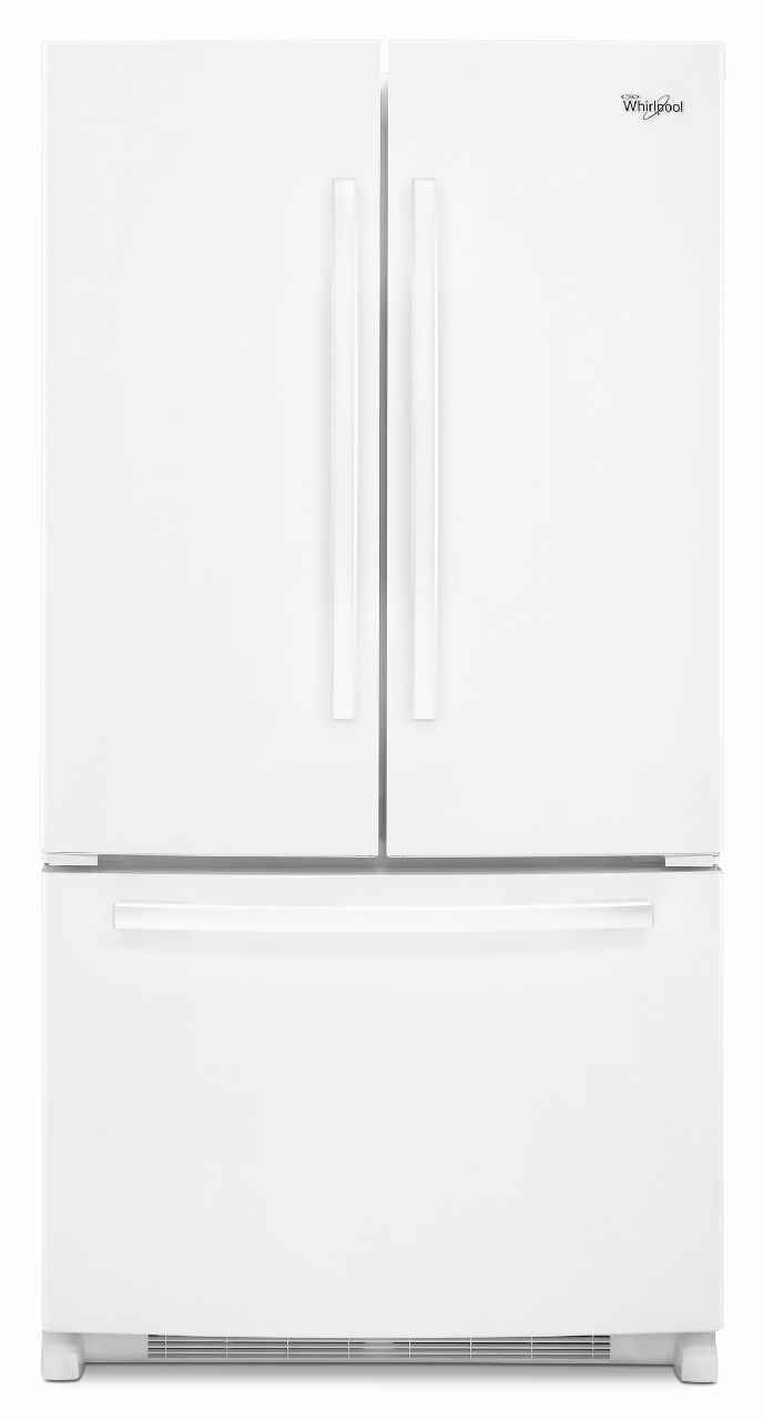Whirlpool Wrf535swbw 36 Inch French Door Refrigerator With 248 Cu