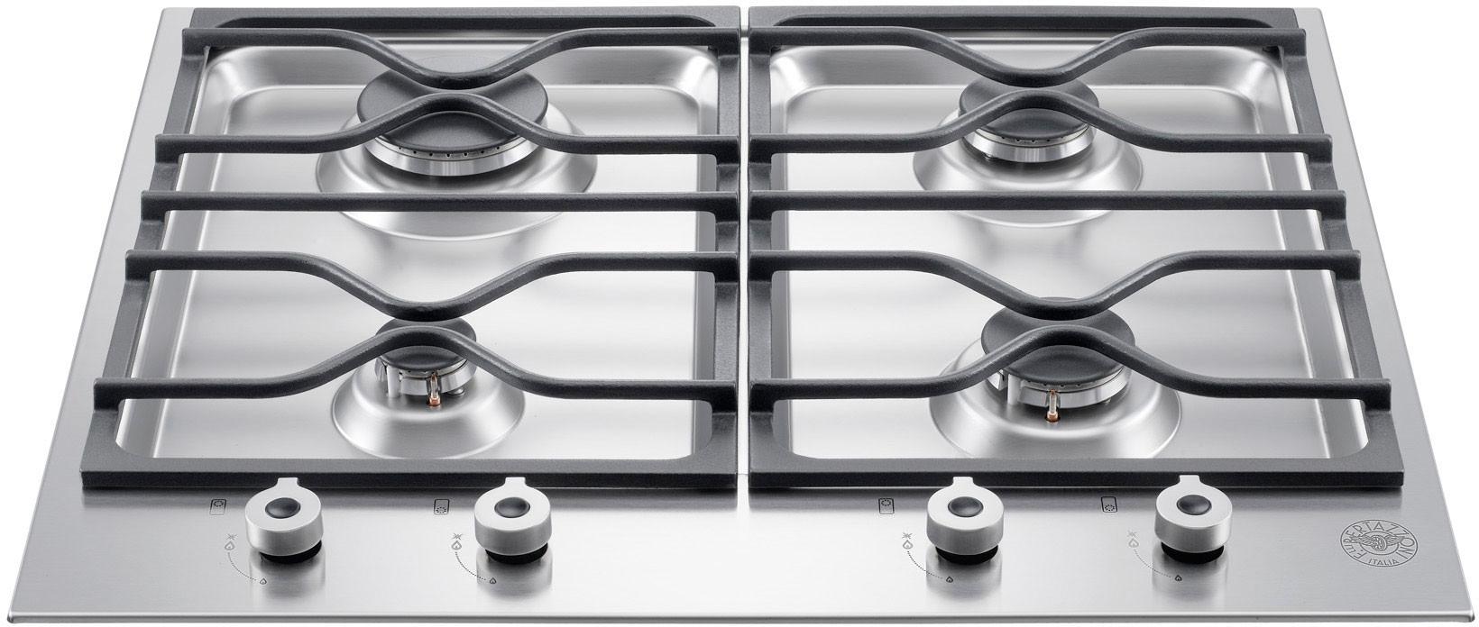 Bertazzoni Pm24400x 24 Inch Gas Cooktop