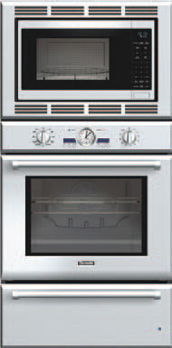 Thermador Podmw301j 30 Inch Triple Combination Wall Oven With 4 7