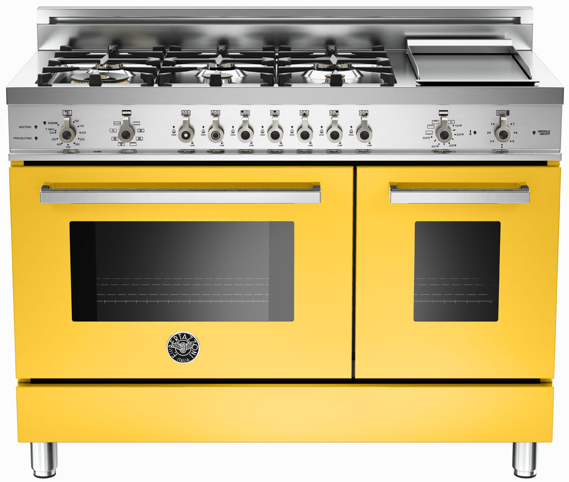Professional Electric Ranges For The Home Yellow Ranges