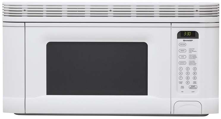 Sharp R1406t 1 4 Cu Ft Over The Range
